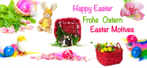 Frohe Ostern, Ostermotive