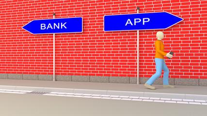 Bank vs APP
