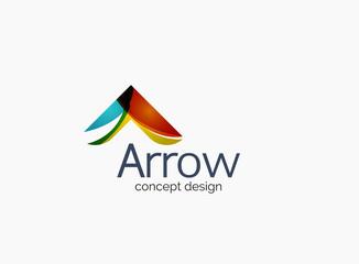 Modern company logo, clean glossy design