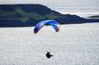 paraglider over Rhossili