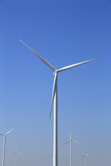Wind turbine producing alternative energy