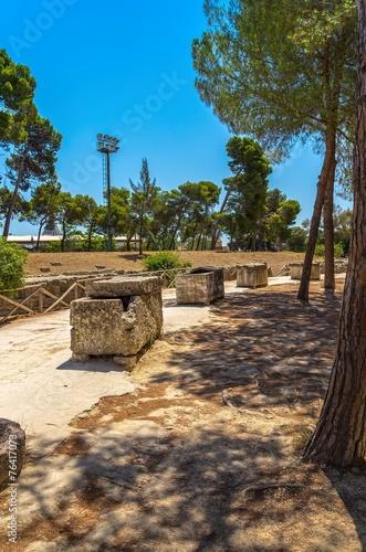 Parco archeologico della Neapoli, Siracusa. Poster