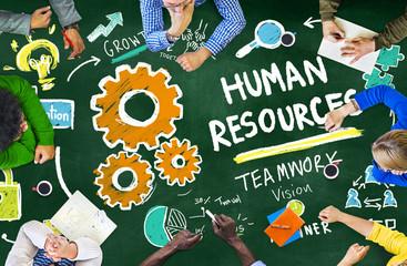 Human Resources Employment Teamwork Study Education Concept