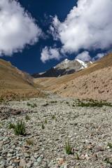 Snow Cap of Stok Kangri peak-Himalaya,Ladakh,India