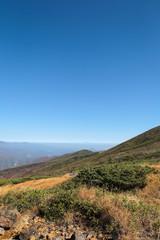 栗駒山への登山