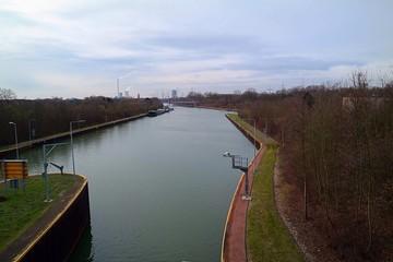 Wasserweg im Ruhrgebiet