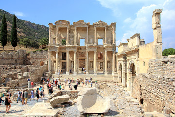 Celsus library, Ephesus Turkey