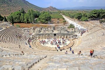 Amphitheater in Ephesus (Efes) Turkey
