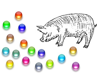Casting pearls before swine