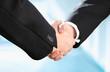Erfolgreich | Business Hände mit Anzug