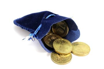 Russian ten-coin spill