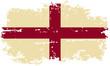 roleta: English grunge flag. Vector illustration.