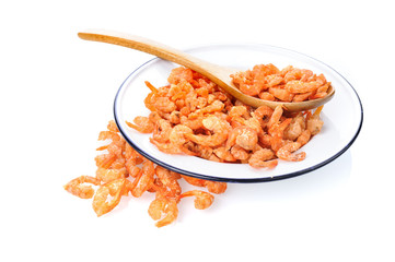 dried salted prawn