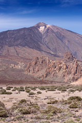 Teide National Park Tenerife Canary Islands vertical