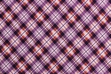 Texture of checkered fabric