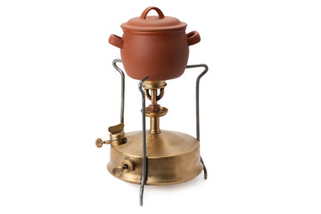 kerosene burner and ceramic pot