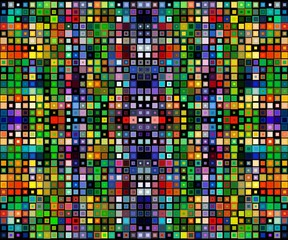 square colorful background template.