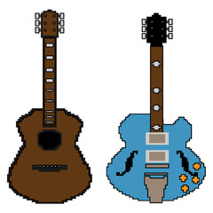 pixel guitar set1