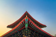 The Chinese temple roof - 76430617