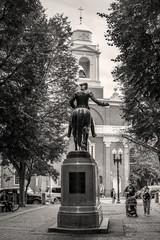 Black and White Boston in MA, USA