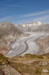 Bettmeralp, Dorf, Walliser Alpen, Gletscher, Aletsch, Schweiz