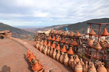 Ceramiche sui monti dell'Atlante
