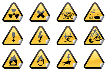 Hazardous Stickers