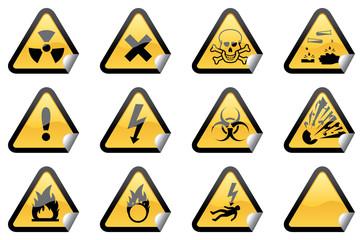 Hazardous Stickers