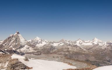 Zermatt, Dorf, Alpen, Walliser Berge, Bergbahnen, Schweiz