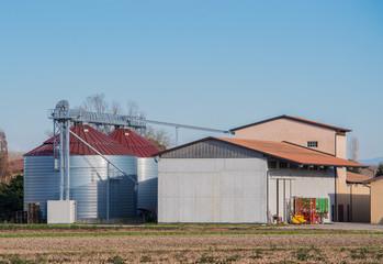 two silos
