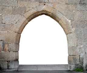 Stone gate with space for your text