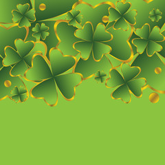 clover for St. Patrick's Day