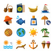 summer icons - 76434072