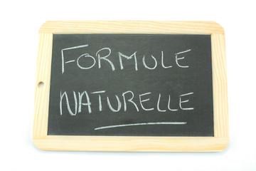 ardoise formule naturelle