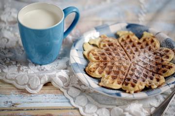 Milk and Waffle