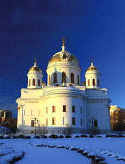 Orthodox female monastery in Yekaterinburg the main building