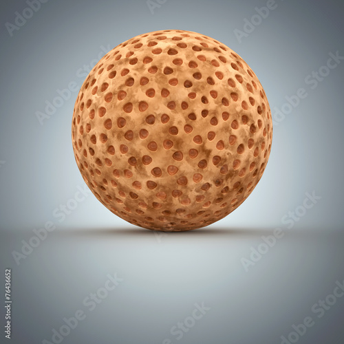 canvas print picture Pollen - 3d Render