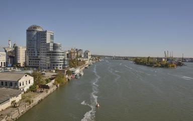 River Don in Rostov-on-Don