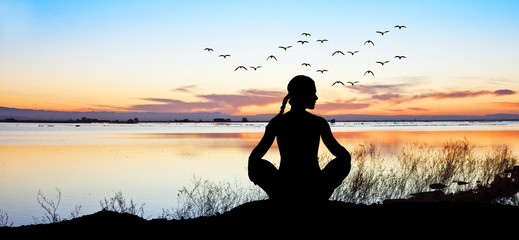 espiritualidad en el lago