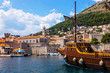 Old Port of Dubrovnik, Croatia.