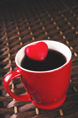 Red cup of tea with heart_1
