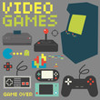 Video Games Icon Set - 76439297