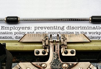 Employers discrimination