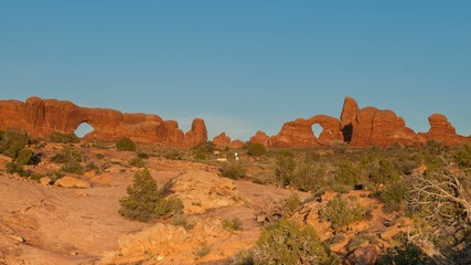 Parade of Elephants Arches National Park Time-lapse Utah Landsca