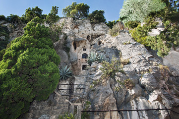 Das Kloster im Berg, Split, Kroatien