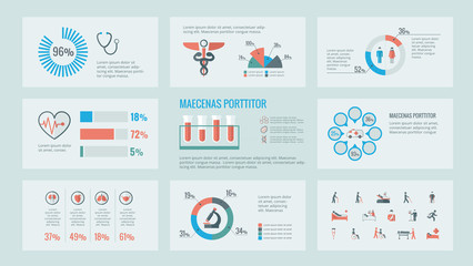 Medical Infographic Elements.