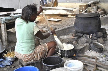 Kochen in Afrika
