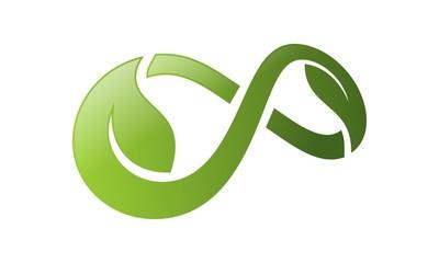Infinity Leaf Logo