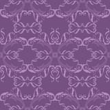 Purple seamless pattern.