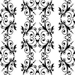 Seamless ornate vintage pattern